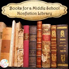 Check out this list of terrific middle school nonfiction titles.