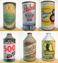 Glueks - he used to collect all kinds of beer cans.