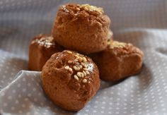 Diabetic Recipes, Diet Recipes, Cooking Recipes, Healthy Recipes, Fun Cooking, Scones, Healthy Snacks, Bakery, Muffin