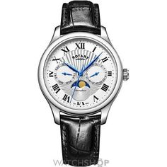 Men's Rotary Moonphase Watch