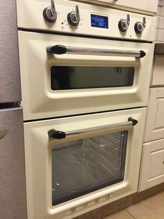 A Beautiful Double Oven By Smeg . Dos6920cream . Oven, Ovens