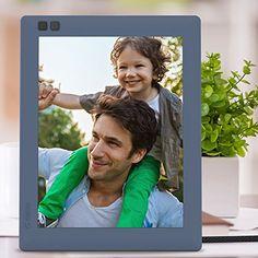 Use this -  Nixplay Seed 8 inch WiFi Digital Photo Frame