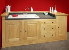 Sink Units   Free Standing Kitchens   Steven Burgess Fine Furniture - Stirling, Glasgow, Edinburgh, Scotland