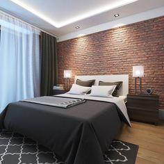 Home decor bedroom – Home Decor Ideas Advice Today Hotel Room Design, Room Design Bedroom, Small Room Bedroom, Home Decor Bedroom, Modern Bedroom, Brick Wall Bedroom, Brick Interior, Farmhouse Master Bedroom, Master Suite Bedroom