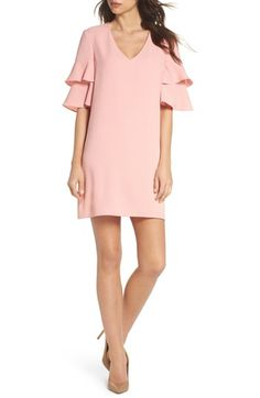 0d9f35bc0 online shopping for Charles Henry Ruffle Sleeve Shift Dress (Regular &  Petite) from top store. See new offer for Charles Henry Ruffle Sleeve Shift  Dress ...