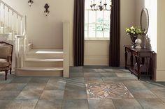 Mohawk Flooring's Quarry Stone tile in Amber
