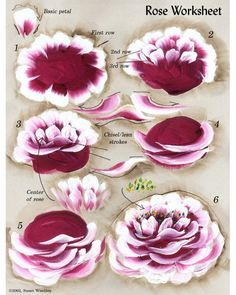 roses & lilacs tin heart