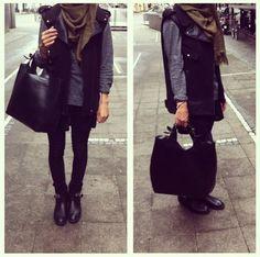 Winter #hijab
