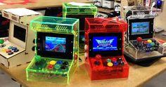 Custom built arcade and mame cabinets. build your own arcade Retro Arcade, Pi Arcade, Bartop Arcade, Arcade Games, Arcade Cabinet Kit, Arcade Console, Mini Arcade Machine, Video Game Decor, Gamer Tags