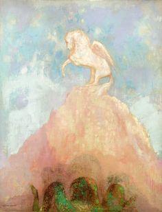 White Pegasus, circa 1908