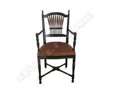 Please contacts us for asking detail about ANTIQUE VICTORIAN ARM WHEAT CHAIR