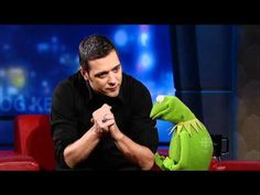 Kermit the Frog interviewed by George Stroumboulopoulos, 2011 Nov 3. ... Visit http://cbc.ca/strombo/ and http://cbc.ca/video/.  - - - - - - - - - - - - - - -  Another interview...    Visit http://cbc.ca/q/episodes/, left-click episode 2011 Nov 16, and then fast-forward to 26 minutes into the show: Jian Ghomeshi interviews Kermit.