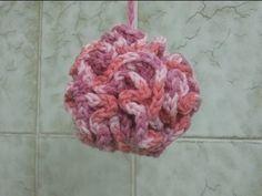Loofah - Left Handed Verison - Crochet Tutorial