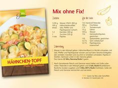 Hähnchen-Topf Mix ohne Fix