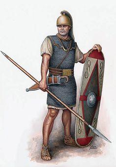 """""""Guerrero hispano al servicio de Sertorio, 75 aC."""""""