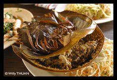 Kai Mang Da Talay - Horseshoe Crab's Roe Salad - Phuket 101 Blog - A Phuket Blog with Hundreds of Photos