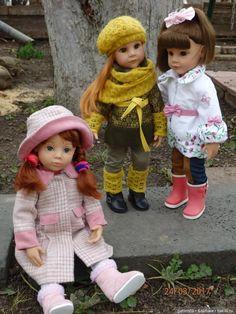 Любимые девочки Готц, прогулки / Куклы Gotz - коллекционные и игровые Готц / Бэйбики. Куклы фото. Одежда для кукол
