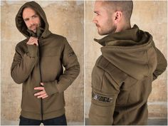 Military Jacket or Star Wars Cyberpunk Jacket with super soft Polar Fleece. The perfect Motorcycle Jacket for Festival Clothing or for Burning Men  If you want to have a really cool Fleece Jacket the NiPol Jacket is the one. The inside is so soft you will feel like in heaven. The outside layer is