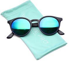 a0fe9b866a Amazon.com  WearMe Pro Classic Small Round Retro Sunglasses