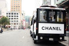 Chanel Street Car in San Fran