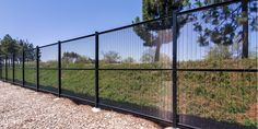 The most common types are palisade fencing and mesh fencing. Both these types of security fencing, as both of them have their advantages and disadvantages. Read our blog ! Palisade Fence, Mesh Fencing, Railroad Tracks, Security Fencing, Steel, Blog, Blogging, Steel Grades, Train Tracks