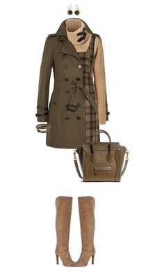 """Colors of Fall"" by ittie-kittie on Polyvore featuring Burberry, Ralph Lauren Black Label, Unique, Gabriela Hearst, Ippolita, BauXo, Abercrombie & Fitch, Fall and autumn"