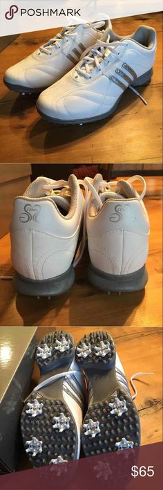 🏌 Women's Golf Shoes **Closet Clear Out** Signature Natalie 2 Women's golf shoes by adidas -Size: 6.5- Shoes will be shipped in original box** practically brand new, one worn once for golf lessons Adidas Shoes Athletic Shoes
