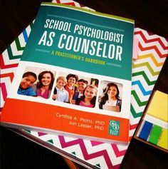 A must have for any School Psychologist! School psychologists as counselors.