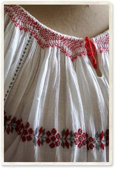 Miriam Embroidered Peasant Blouse 14