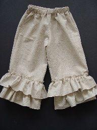 Tutorial: Ruffle leg pants · Sewing | CraftGossip.com