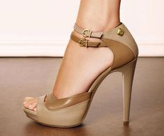 Qupid Neutral 35 Nude Velvet and Patent Stiletto Heels I don t normally  like… 77397c3dccb