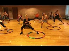 """""""ADDICTIVE"""" - Dance Fitness Workout Weighted Hula Hoops Valeo Club - YouTube"""