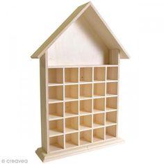 Calendrier de l'Avent en bois à décorer - Maison ouverte - 50 cm http://www.creavea.com/calendrier-de-lavent-en-bois-a-decorer-maison-ouverte-50-cm_boutique-acheter-loisirs-creatifs_68137.html