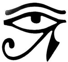 Olho de Horus. Olho de Hórus, também conhecido como udyat, é um símbolo que significa poder e protecção. O olho de hórus era um dos amuletos mais importantes no Egito Antigo, e eram usados como representação de força, vigor, segurança e saúde.