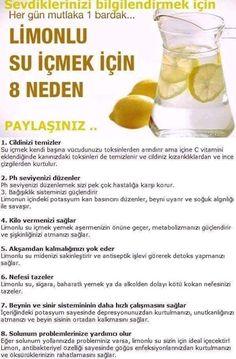 Limonlu Suyun Faydaları Nelerdir?