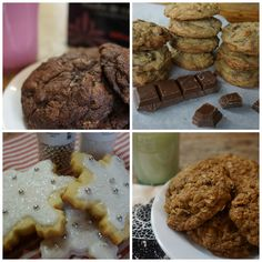 The four best cookie recipes ever! Bake a tray of assorted cookies for your next party. Best Chocolate Chip Cookie, Best Cookie Recipes, Creating A Blog, Family Meals, A Food, Tray, Good Things, Baking, Desserts