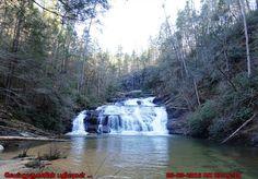 Panther Creek Falls in Georgia
