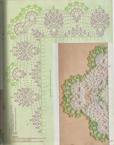 Mania-de-Tricotar: Lindo barradinho de canto!!! http://mania-de-tricotar.blogspot.com.br/