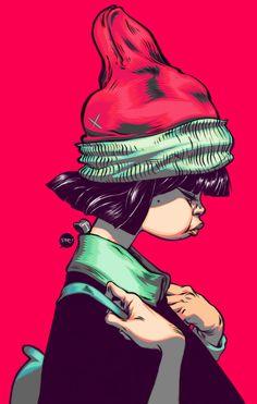 Schoolgirl by T-Wei. My Colors.
