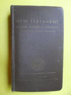 New Testament ~ Gospels ~ US Army Edition ~ 1941