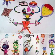 Dibujar como Joan Miro   Manualidades Infantiles