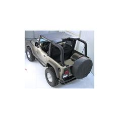 The PreOwned Jeep Store - Summer Brief Top, Gray, 92-95 Jeep Wrangler (YJ), $64.85 (http://www.buyjeeppartsonline.com/jeep-summer-brief-top-gray-92-95-jeep-wrangler-yj/)