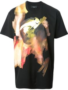 Givenchy Painterly Print T-shirt - Zoo Fashions - Farfetch.com
