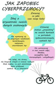 Infografika - Jak zapobiec cyberprzemocy? Life Guide, Internet, Information Technology, Social Skills, Fun Learning, Special Education, Art For Kids, Parenting, Classroom