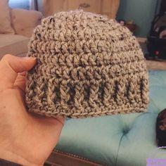 The Parker Crochet Newborn Hat - Free Pattern