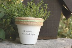 "Cher's ""Turnback Thyme"" by PlantPuns on Etsy"