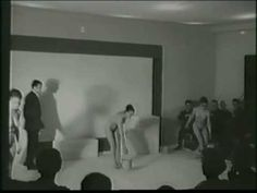 "Yves Klein ""Anthropometries of the Blue Period"" y ""Fire Paintings"" [1960] - YouTube"