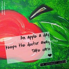 An apple a day  keeps the doctor away. Take care.  ❤︎  #autumn #healthy #apple #happy #takecare #stay #stayinbalance #balance #september #you #jungle #life #linz #austria #coaching #lifestyle #juststaytuned #staytuned #student #studentslife #thoooojubo17