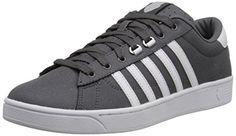 premium selection 47151 0d8fe k-SWISS Men s Hoke Comfort Memory Foam Shoe, Charcoal White, 8.5 M