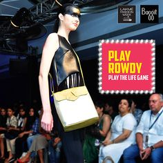 Baggit believes that girls can be tough and has created bags to flaunt the same. Complement your rowdy look with this shimmering golden sling bag from Baggit Fall/Winter'15 Collection showcased on the ramp at Lakme Fashion Week. This one is available at all Exclusive Baggit Stores and www.baggit.com  Shop Here :http://goo.gl/4XEHcf MRP : Rs 2725/-